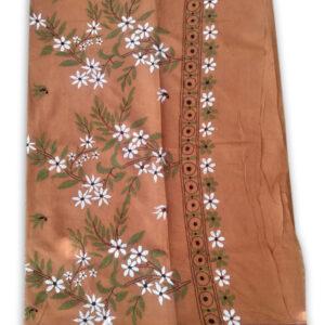 Womans Handloom Cotton Katha Stich Saree - 4