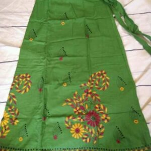 Handloom Cotton Kantha Stich Wrap Skirt (4)